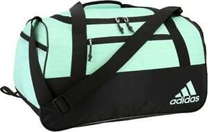 NWT Adidas Squad IV Duffel/Gym Bag - Light Green//Black