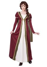 WOMEN'S MEDIEVAL MAIDEN COSTUME SIZE XS 4-6 (with defect)