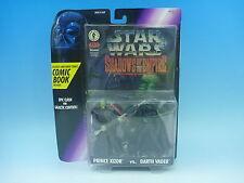 Kenner 1996 STAR WARS COMIC BOOK Prince Xizor vs. Darth Vader EMS from JP Rare