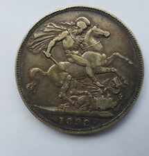 Great Britain 1898 Silver Crown - VF - Nice dark toning