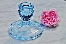 Czech/Bohemia Date-Lined Glass Candle Holders