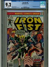 IRON FIST #9 CGC 9.2 NEAR MINT- WHITE PAGES 1976 1ST APPEARANCE OF CHAKA BLUE