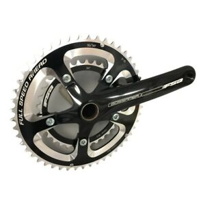 FSA Gossamer Compact Road Bike Double Right Crank Arm + Chainrings 175mm 50/34t