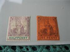 Trinidad, kleines Briefmarkenlot älterer Ausgaben, x,  Foto