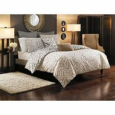 New Style Domain Kenyon Twin Duvet Cover Set 2 Piece Zebra Brown Beige