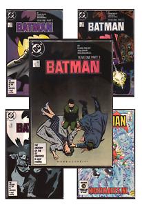 Batman #367-461 VF/NM 9.0+ 1984-1991 DC Comics Back Issues