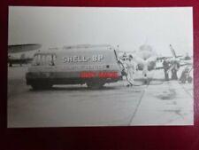 POSTCARD THOMPSON TWEED AIRCRAFT REFUELLER SHELL-BP