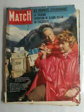 N33 Magazine Paris-Match N°551 31 octobre 1959 Claude Kogan, l'himalaya