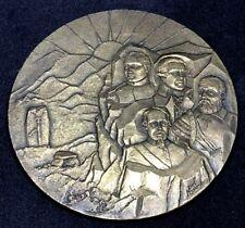 Personalities Napoléon Bonaparte Corse-du-Sud Corsica Signed Bronze 85 mm / N143