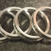Aluminium Spigot Rings 65.0 - 57.1 Wheel Spacer Set of 4 Alloy Wheel Hub Centric