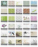 "Dragonflies Kitchen Curtains 2 Panel Set Window Drapes 55"" X 39"" Ambesonne"