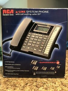 RCA 25414RE3 Executive Series 4-Line Display Phone 16 Feature Telephone OPEN BOX