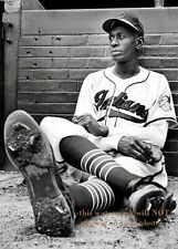 Satchel Paige PHOTO Cleveland Indians Team Star Negro League Baseball