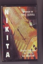 k7 audio - nikita - musique eric serra - virgin