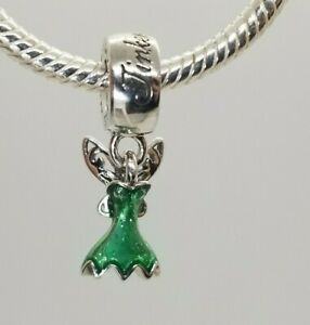 PANDORA DISNEY tinkerbell Pandora Disney Tinker Bell's Dress Charms
