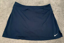 Ladies Nike Sports Skort Blue Size L -  VGC