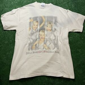 Dixie Chicks Tour T-Shirt 2000 Fly Tour White Size M beefy Hanes Country