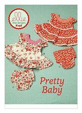 Kwik Sew SEWING PATTERN K198 Baby Dresses & Panties 0-3m To 18-24m