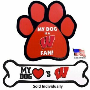 Wisconsin Badgers Car Magnets