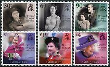 More details for gibraltar royalty stamps 2021 mnh queen elizabeth ii 95th birthday anniv 6v set