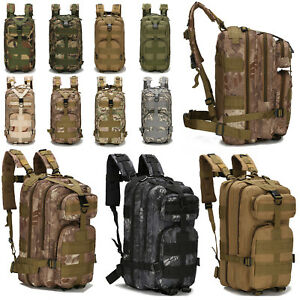 Military Tactical Sports Camping Backpack Outdoor Hiking Bag Trekking Rucksack