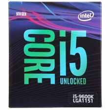 Intel Core i5-9600K Coffee Lake Processor 3.7GHz 8.0GT/s 9MB LGA 1151 CPU,