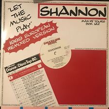 SHANNON • Let The Music Play • Vinile 12 Mix • 1989 SMASH ONE