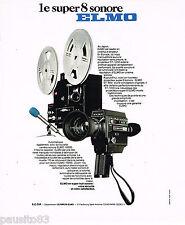 PUBLICITE ADVERTISING 065  1976  Les caméras ELMO  la SUPER 8 SONORE
