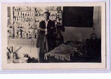 Real Photo Postcard RPPC - Medical Medicine Doctor or Pharmacist