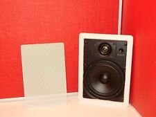"OnQ TECHNOLOGIES RECTANGULAR 6.5"" IN-WALL 2-WAY SPEAKER 364519-01 (8 ohm / 100w)"