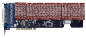 Card Digium TDM 2400 all modules 24 FXO ports