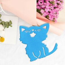 Happy Cat Metal Cutting Dies Stencil Scrapbooking Album Paper Card Embossing DIY