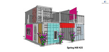 Tiny Shipping Container House Catalog L40' X W8' or L20' X W8'