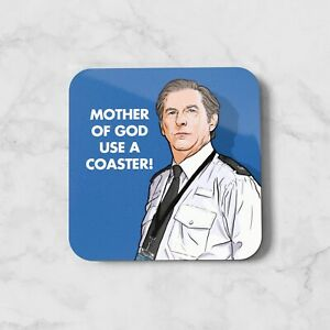Ted Coaster Wooden Hardboard LOD Coffee Table Home Decor Mother Of God Use A TV