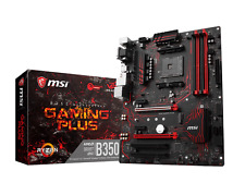 MSI B350 GAMING PLUS ATX Motherboard for AMD AM4 CPUs