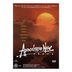 Apocalypse Now: Redux DVD New Region 4 - Marlon Brando, Martin Sheen - Free Post