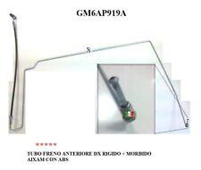 TUBO FRENO ANTERIORE DESTRO RIGIDO + FLESSIBILE AIXAM CON ABS GM6AP919A