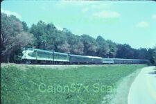 Original slide- SOU Southern Ry. FP7A #6133 & Passenger Special/Bolinbroke,GA.