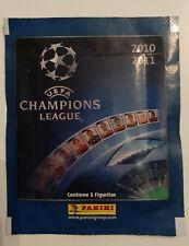 1x Packet Panini UEFA Champions League 2010 - 2011 contiene 5 cromos Pochette