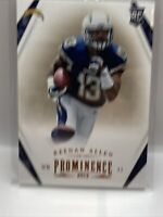 2013 Panini Prominence Football - Rookie - Keenan Allen - San Diego Chargers