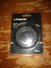 New Polaroid 52mm Optics Scalloped Lens Hood for Canon EOS