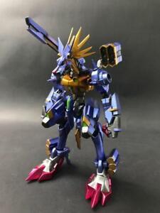 Khzone Studio Digimon Adventure Metal Garurumon X Figure Model Figurine Limited