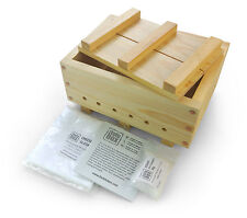 "TOFU MAKER KIT ""XL"" 1200g, HANDMADE IN LONDON, Tofu Press + Cloth + Nigari"