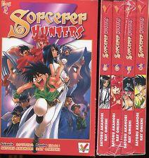 Coffret Sorcerer Hunters N°2, Tomes 5 à 8. NEUFS.   Mangas VF..