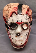 FRIDAY THE 13TH JASON VORHEES CHEMICAL TOXIC WASTE FACE MASK LATEX