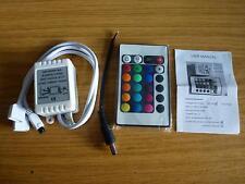 Clave 24 IR Control Remoto Para 2 tiras del RGB SMD 5050 Tira De Led
