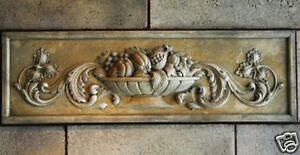Fruit Basket Wall stone backsplash tile home decor art kitchen marble travertine