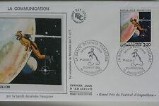 ENVELOPPE PREMIER JOUR SOIE 1988 LA COMMUNICATION