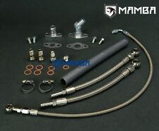 MAMBA Turbo Oil & Water Line Kit TOYOTA 1JZ-GTE 2JZ-GTE Garrett GT3076R GT3582R