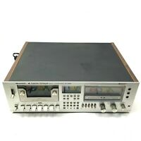 Sharp RT-3388A Computer Controlled Stereo Cassette Deck: Parts or Repair